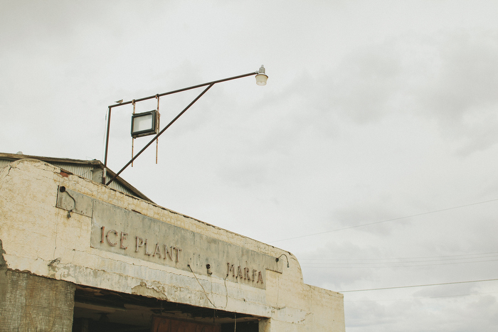 Photos of the ice plant in Marfa Texas